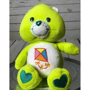 NWOT Care Bear Plush Green Kite DO YOUR BEST BEAR